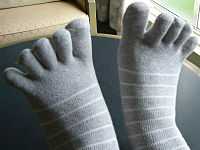 5本指靴下